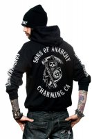 SOA Full Backpatch ziphoodie modell