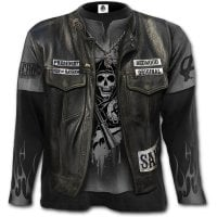 Sons Of Anarchy Jax Wrap longsleeve fram
