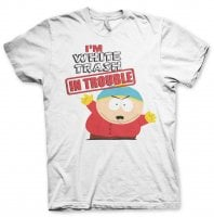 South Park - I'm White Trash In Trouble T-Shirt 1