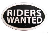 "Bältesspänne ""Riders Wanted"" CABELT"