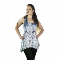 Story Time Lace Panel Vest fram