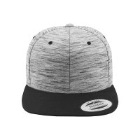 Stripes Melange Crown Snapback Keps fram
