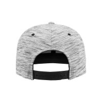 Stripes Melange Crown Snapback Keps bak
