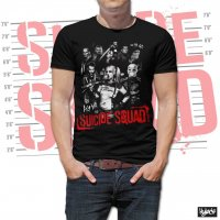 Suicide Squad t-shirt modell