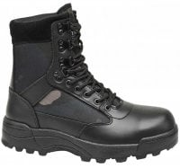 Tactical Boots darkcamo 9 öglor