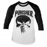 Marvel kläder, The Punisher baseball longsleeve