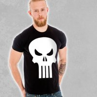 The Punisher Skull T-Shirt modell