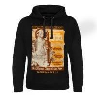 The Sound Of Hendrix Poster Epic Hoodie 1