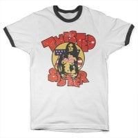 Twisted Sister - Topless 76 Ringer Tee 1