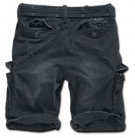 Shell valley heavy vintage shorts svart 2