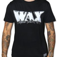 wax logo t-shirt svart