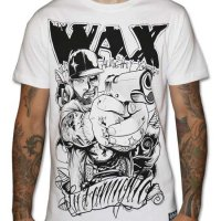Reloaded vit t-shirt