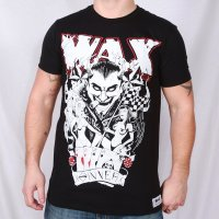 WAX Sinner svart t-shirt fram