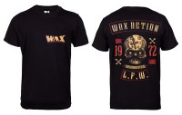 WAX X-Bone svart t-shirt