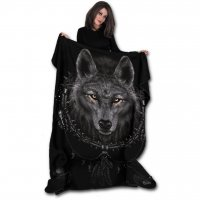 Wolf Dreams fleecefilt modell