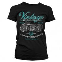 Vintage Motorcycles Girly T-Shirt