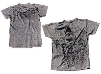 "Alchemy ""Scalp Perla/Grey"" T-shirt"