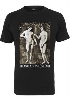 Adam Loves Eva T-shirt (L,black)
