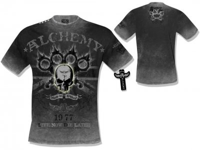 Alchemy t-shirt Lisbeth kiss