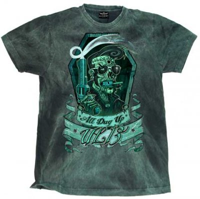 Alchemy All Dug up Blue vintage t-shirt