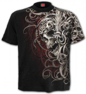 Allover T-Shirt herr (XXL)