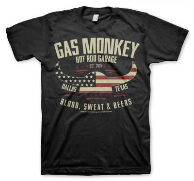 American Viking Gas Monkey Garage t-shirt