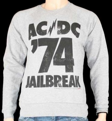 Amplified ACDC jailbreak sweatshirt