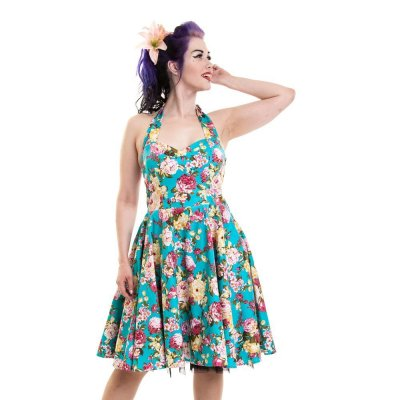 Annabella dress blue orchid