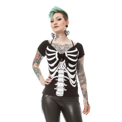 Bone betty top
