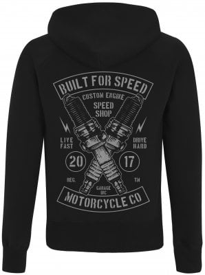 Built For Speed Ziphoodie Herr 1