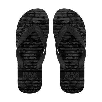 Camo flip flops (36,dark camo)