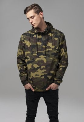 Camo pull over vindjacka 10