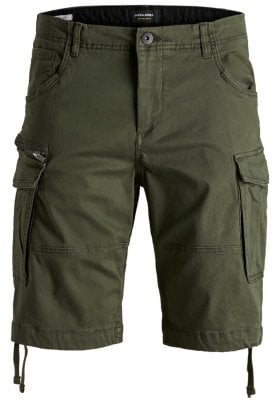 Comfort fit cargo shorts herr