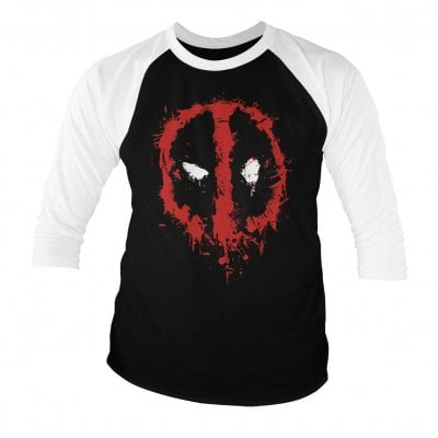 Deadpool splash icon 3/4 longsleeve