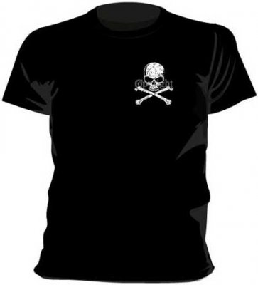 Distressed Skull Crossbones Pkt