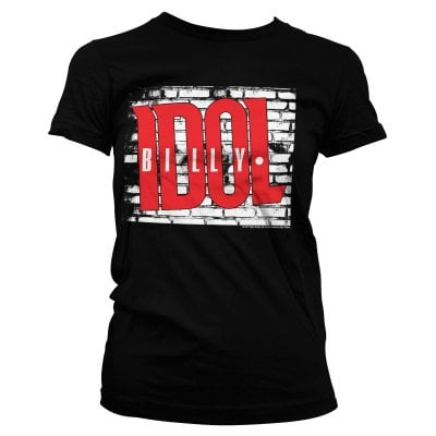 Billy Idol Logo Girly Tee