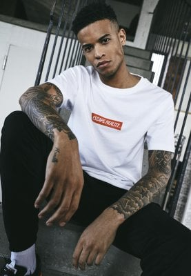 Escape Reality T-shirt (L,white)