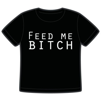 feed me bitch barn t-shirt