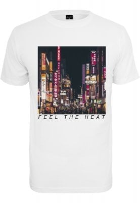 Feel The Heat T-shirt (L,white)