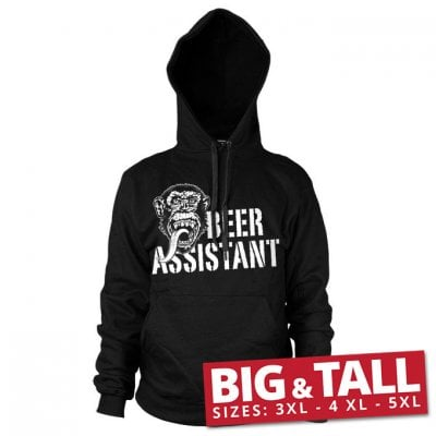 GMG - Beer Assistant hoodie big and tall