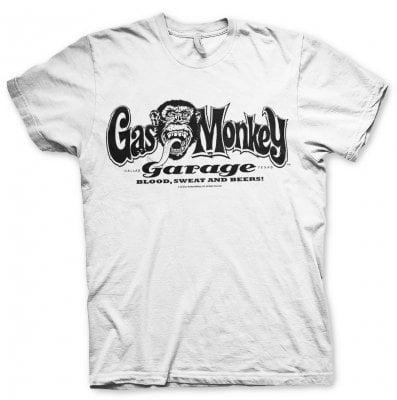 Gas Monkey Garage big patch T Shirt (S)   Galet  