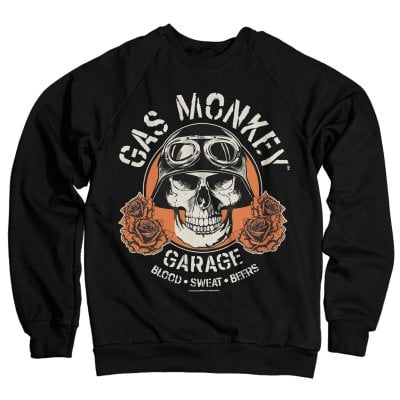 Gas Monkey Garage skull sweatshirt