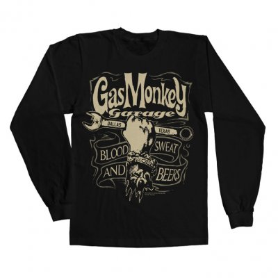 Gas Monkey Garage kläder - Wrench Label longsleeve