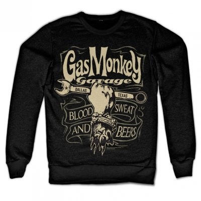 Gas Monkey Garage - Wrench Label sweatshirt