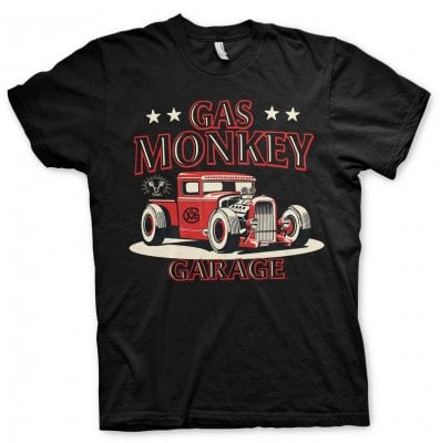 Gas Monkey Garage Texas ROD T-Shirt 1