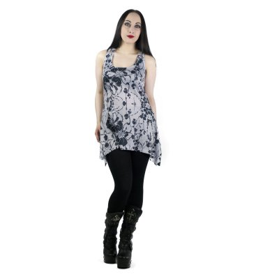 Gretta Lace Panel Vest Fram