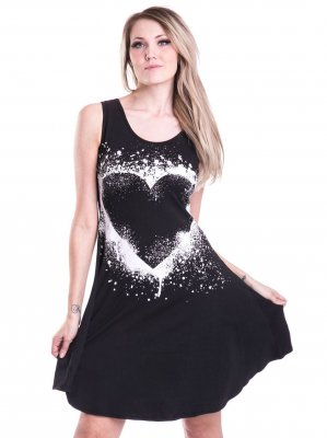 Heart essence dress