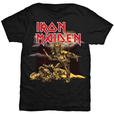 Iron Maiden slimfit t-shirt dam: Slasher