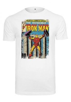 Iron Man omslag T-shirt