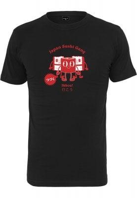 Japanese Sushi T-shirt (L,black)